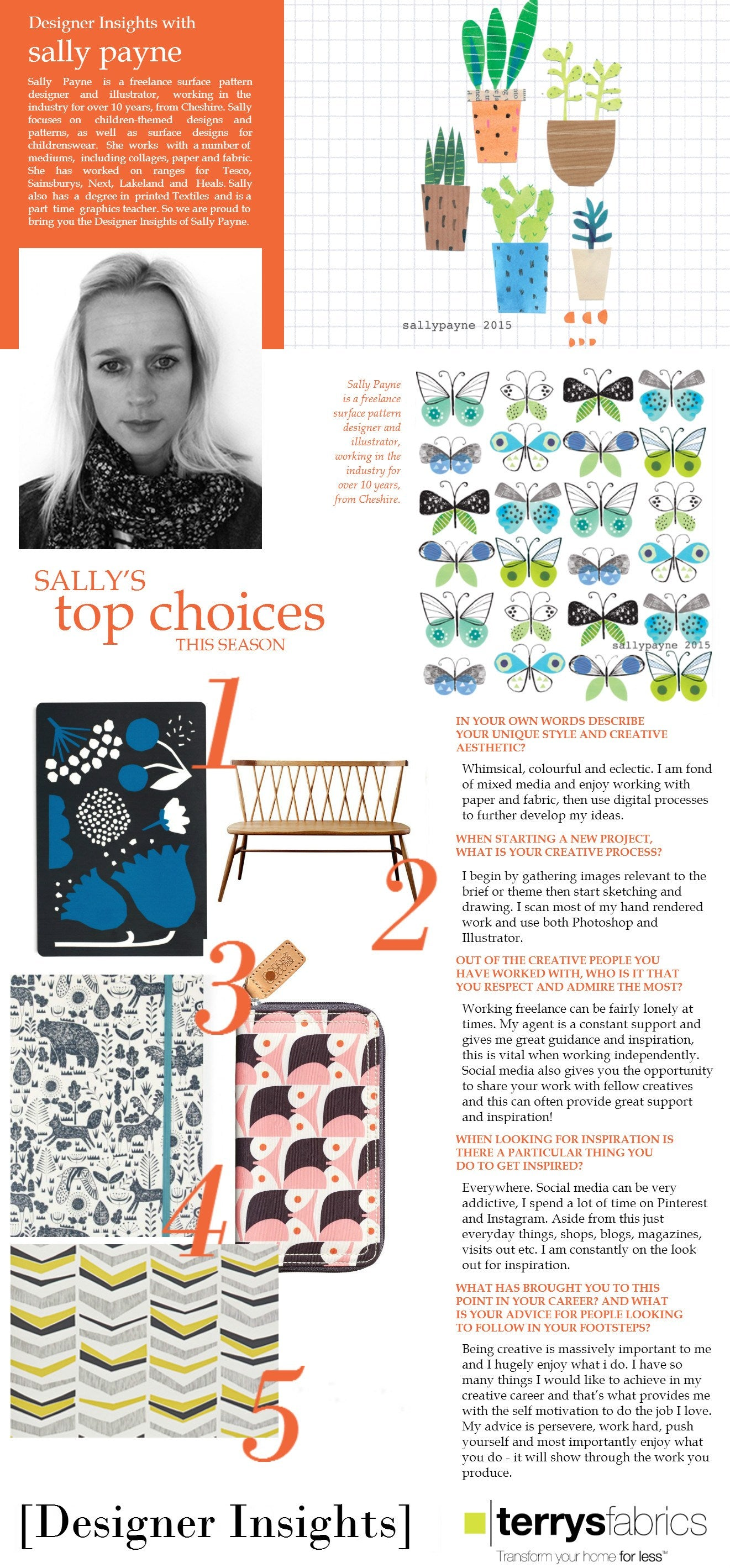 Designer Insights - Sally Payne