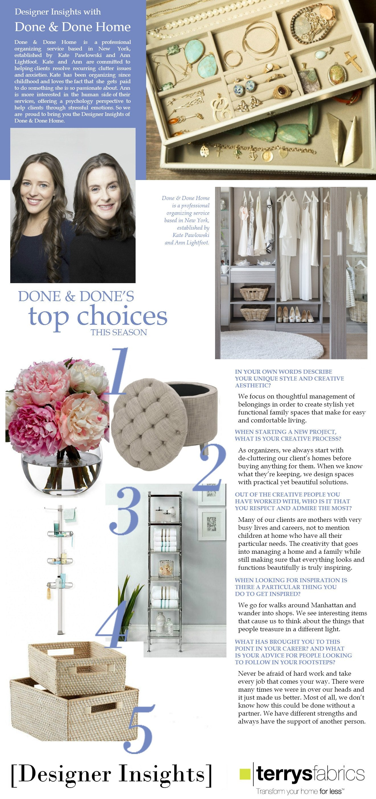 Designer Insights - DoneDoneHome