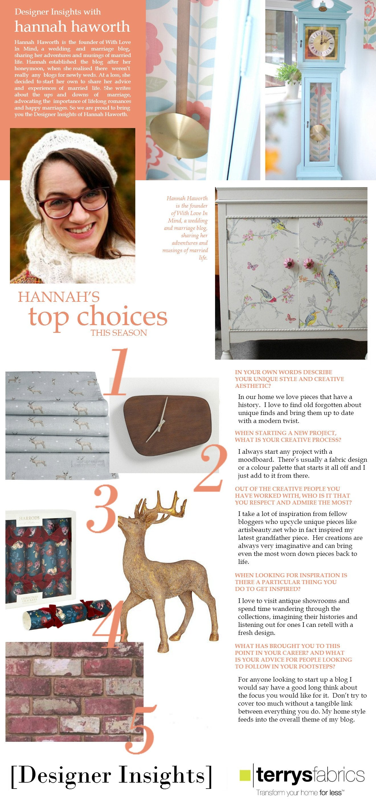 Designer Insights - Hannah Haworth