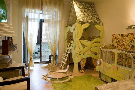 Modern kids bedroom decor