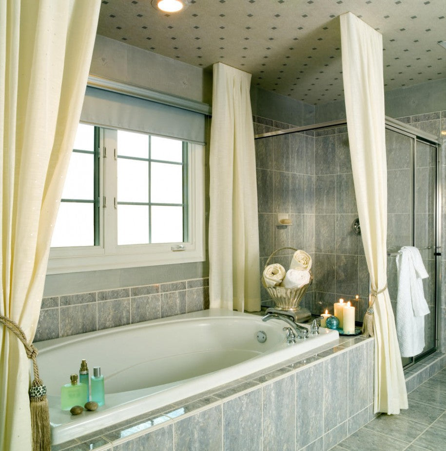 Appealing Designer Bathroom Pictures And How To Create A Stylish Bathroom With Grey Ceramic Tiles