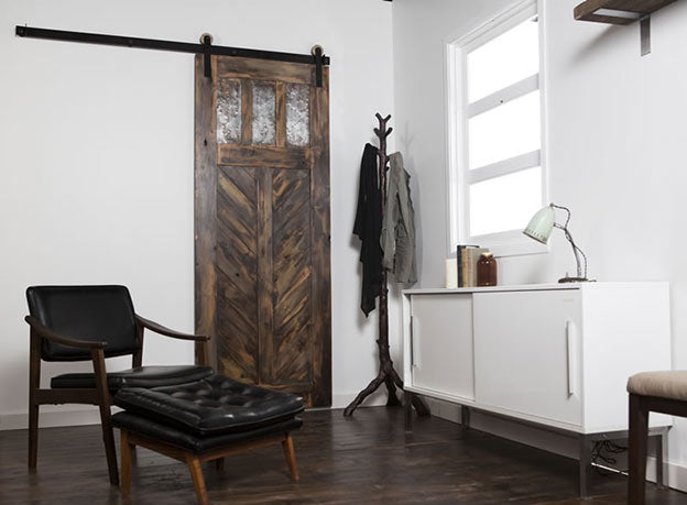 Cool ways to use sliding barn doors in your home terrys for Barn door designs interior
