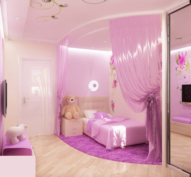 Modern Disney Princess Room Decor