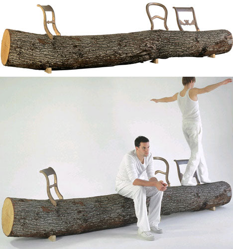 sold-wood-log-bench