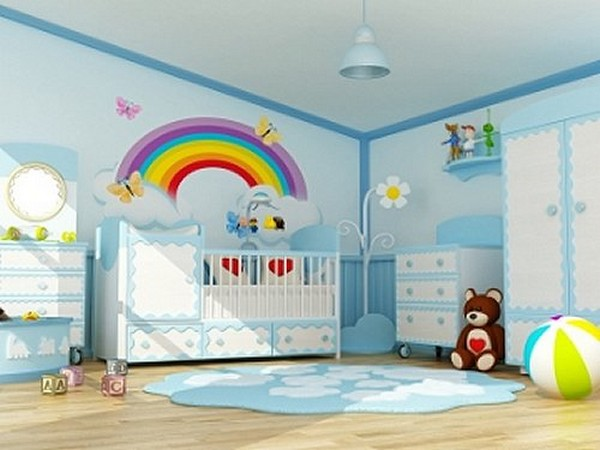 Rainbow-Wall-Decals-For-Kids-Room