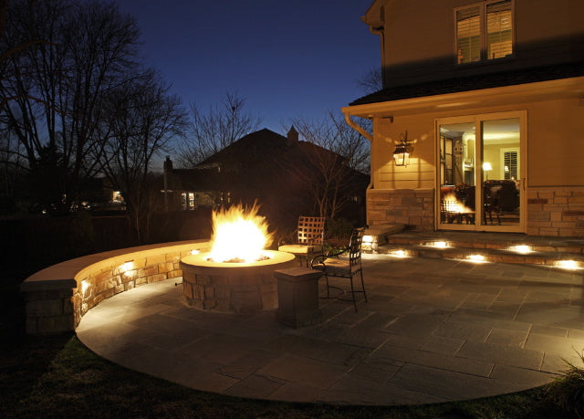 Nice Exterior Patio Lighting Pic 640x459 At Exterior
