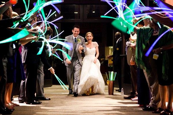 Glow Stick Wand Exit For Wedding