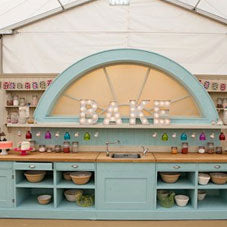 Inside The Great British Bake Off tent