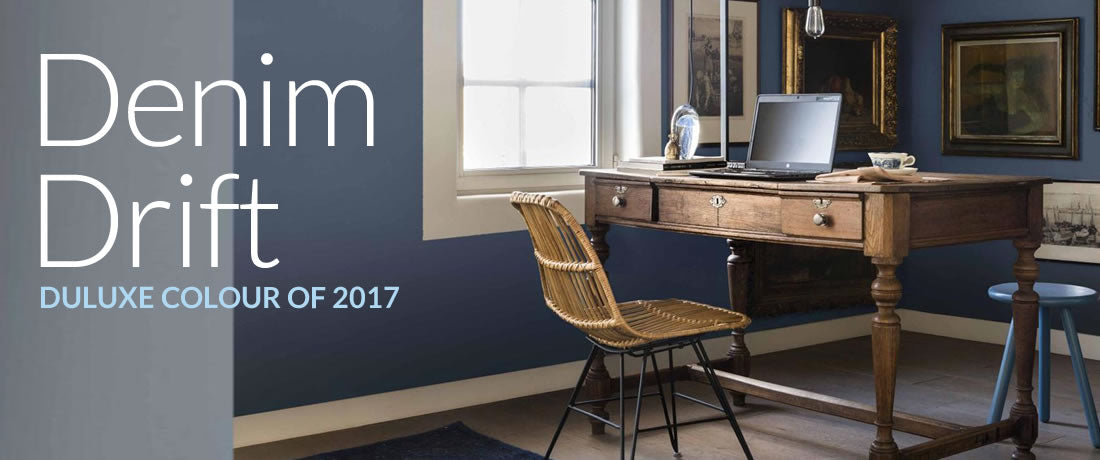 Denim Drift Dulux Colour Of The Year 2017 Terrys