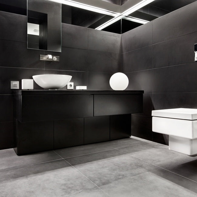 Black Bathroom Ideas Mesmerizing Black Bathroom