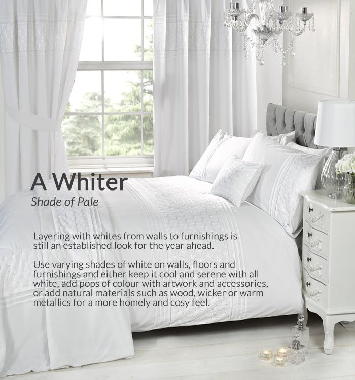 On Trend Weekly Inspirations - A Whiter Shade of Pale