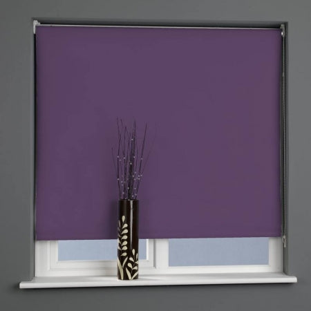 Purple Ready Made Roller Blind