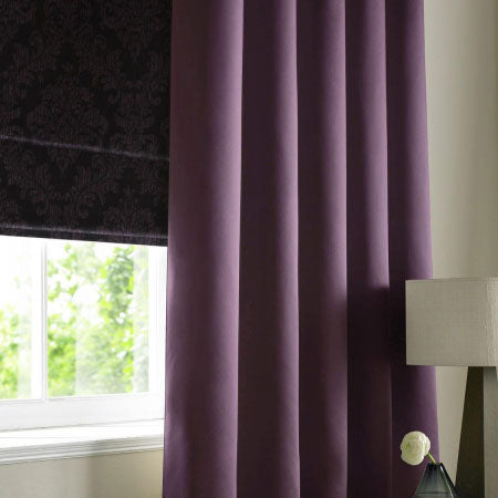 Purple Made To Measure Curtains And Blinds