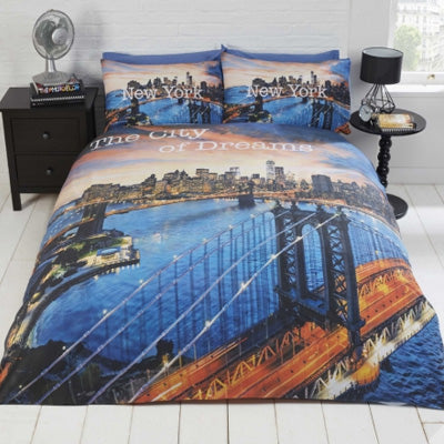 New York City Single Bedding