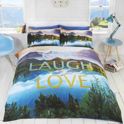Live Laugh Love Nature Bedding