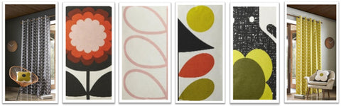 Collage of different Orla Kiely designs