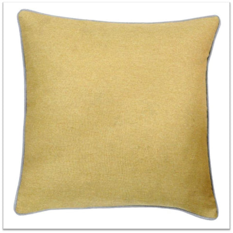 Rich yellow gold cushion