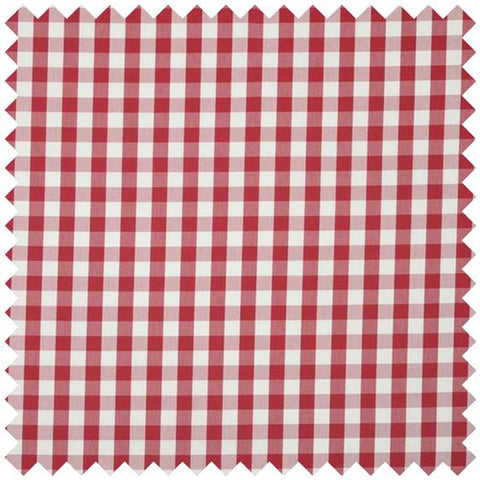 Breeze Curtain Fabric - Rouge