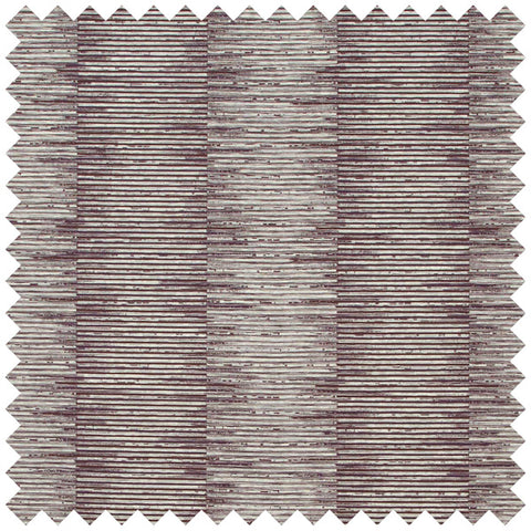 Jagged stacked lined red and beige fabric swatch