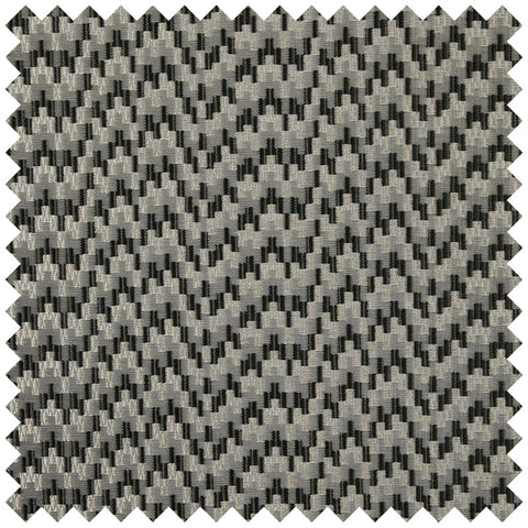 Grey and black wave like fabric swatch