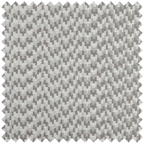 Light and dark grey fabric swatch with a wave like pattern