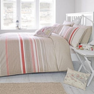 Falmouth Bedding Set Terracotta