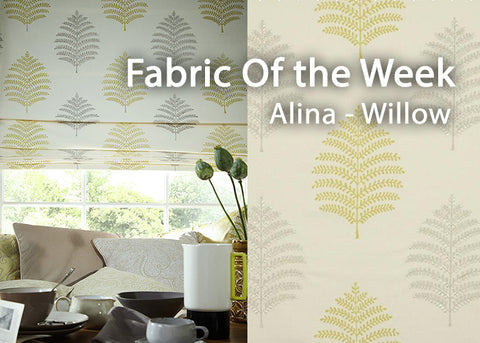 Alina Willow Fabric of the Week