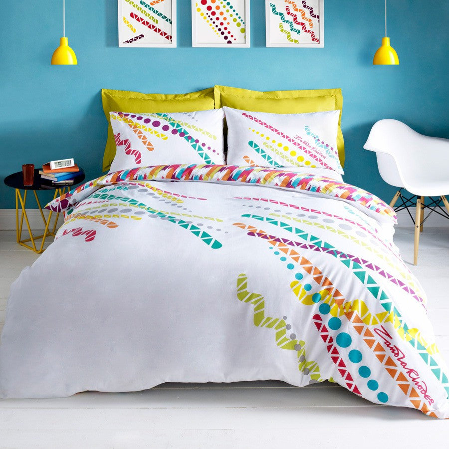 Zandra Rhodes Flash Duvet Set Multi