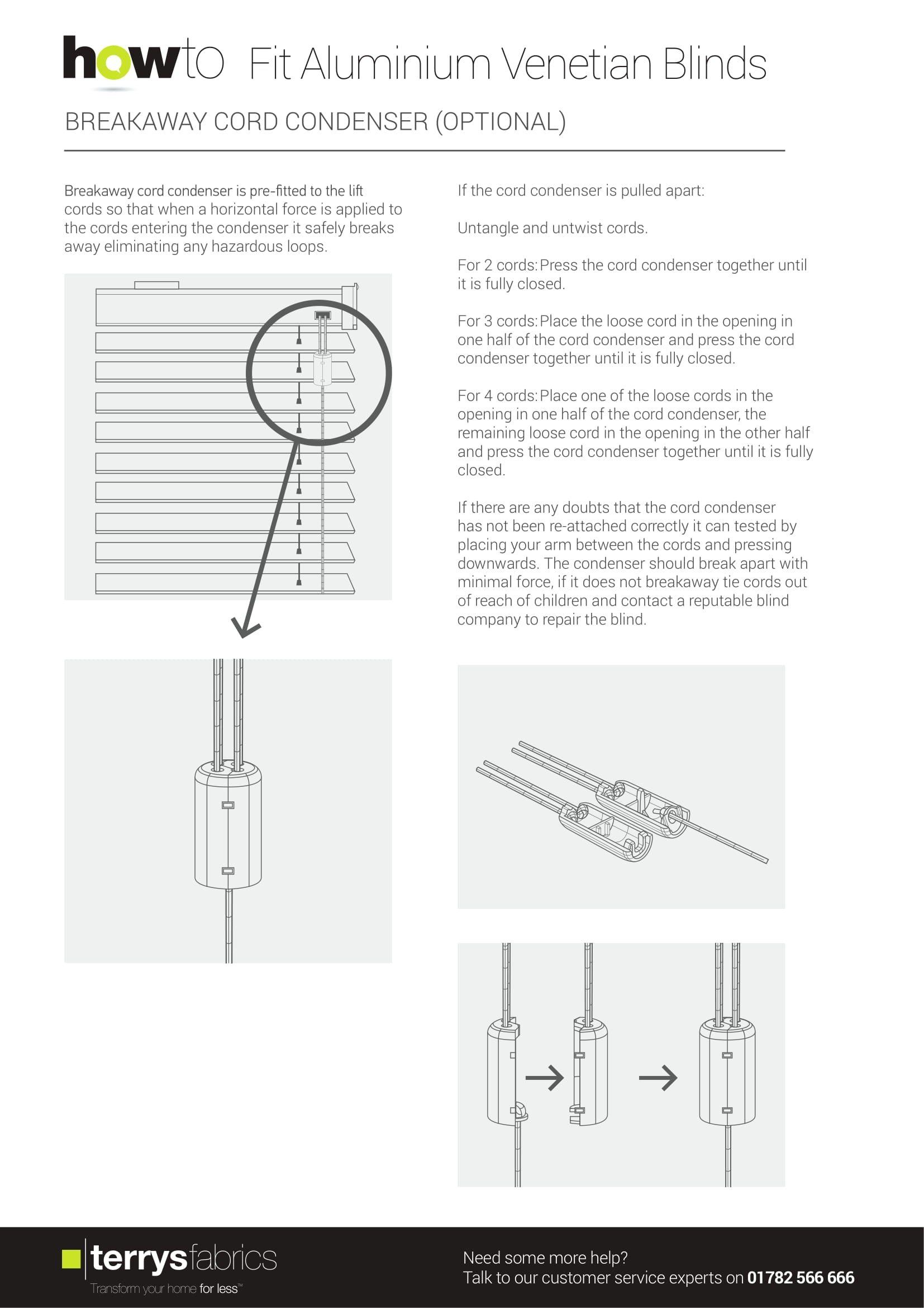 Decora Alumitex Fitting Instructions Four