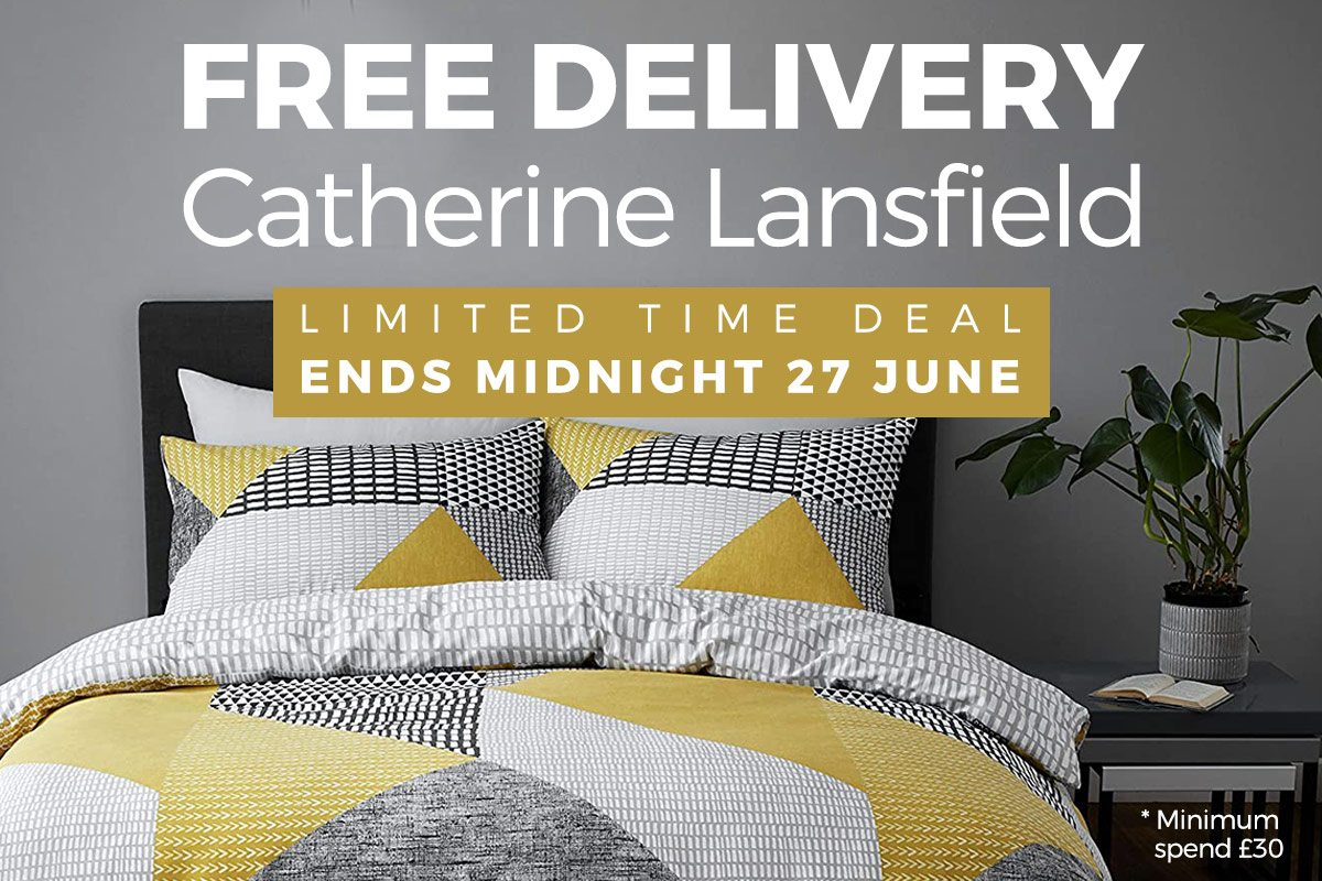 Catherine Lansfield Free Delivery