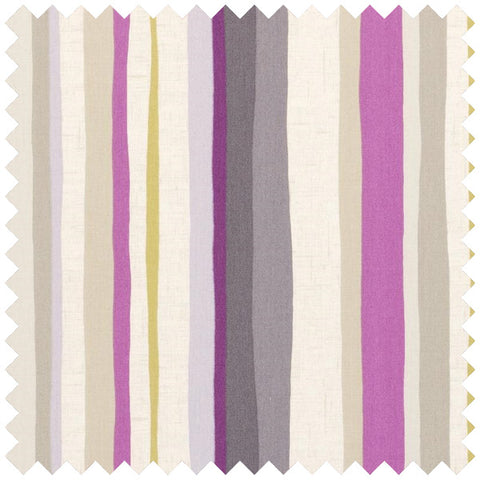 Lounger Curtain Fabric - Berry