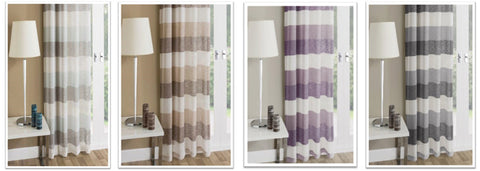 Virtues of voiles - different coloured stripe voiles