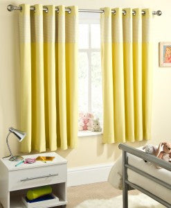 Sweetheart Blockout Curtains Yellow
