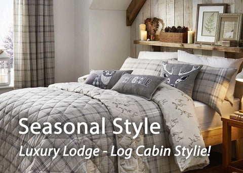 Seasonal Style - Luxury Lodge, Log Cabin Stylie!