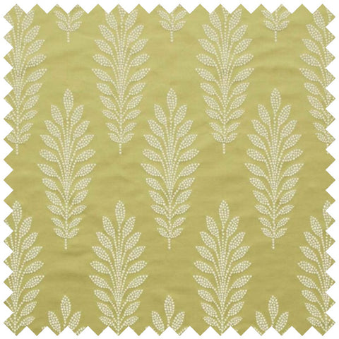 Gold leaf fabric