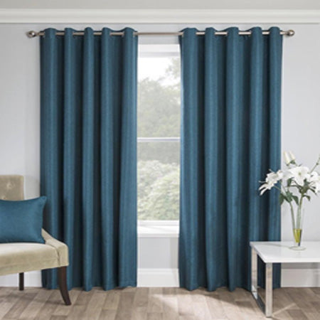 Warwick Ready Made Eyelet Curtains - Teal