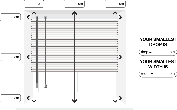 How To Measure For Venetian Blinds Terrys Fabrics