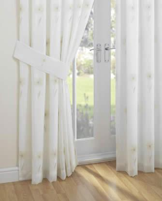 Lined Voile Curtains