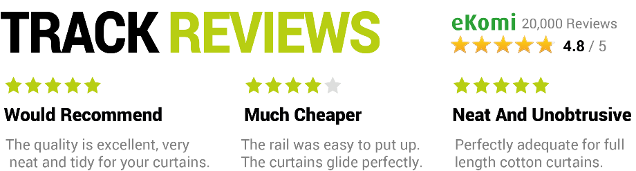 270cm Curtain Tracks Reviews