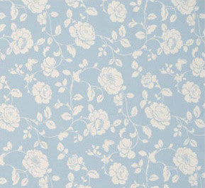 Light blue and cream floral pattern