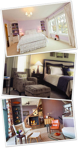 Collage Of Two Bedrooms And A Living Room