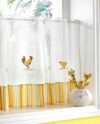 Cafe Curtain Panels