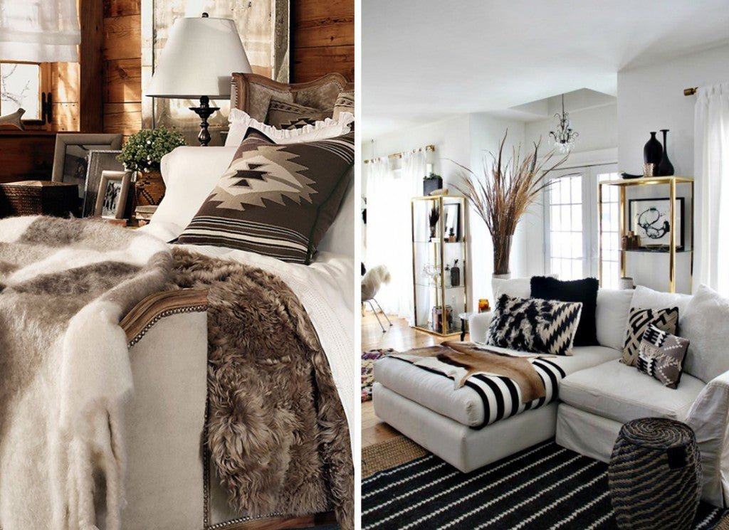 Fur And Animal Prints Used Within The Home