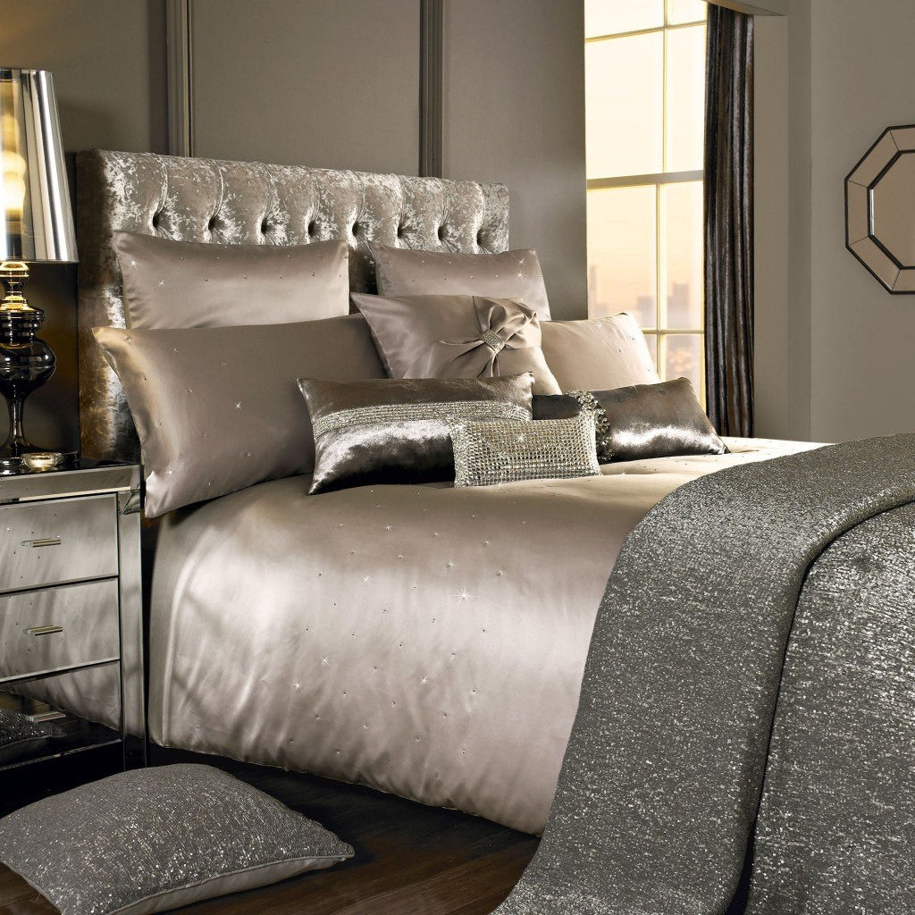 Kylie Minogue luxury gold bedding
