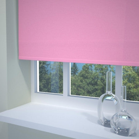 Roller Blinds In Pink