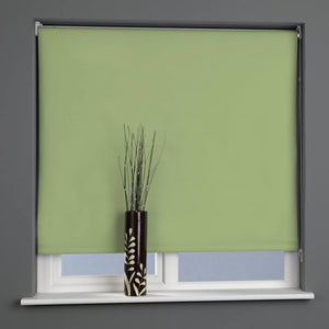 Plain Daylight Roller Blind Apple Green