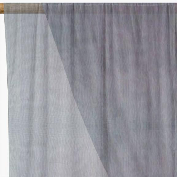 Organza Fabric Grey