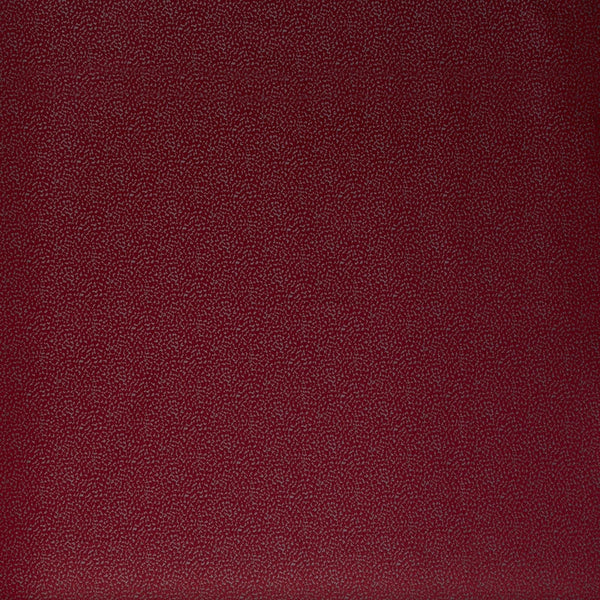 Crater Curtain Fabric Scarlet