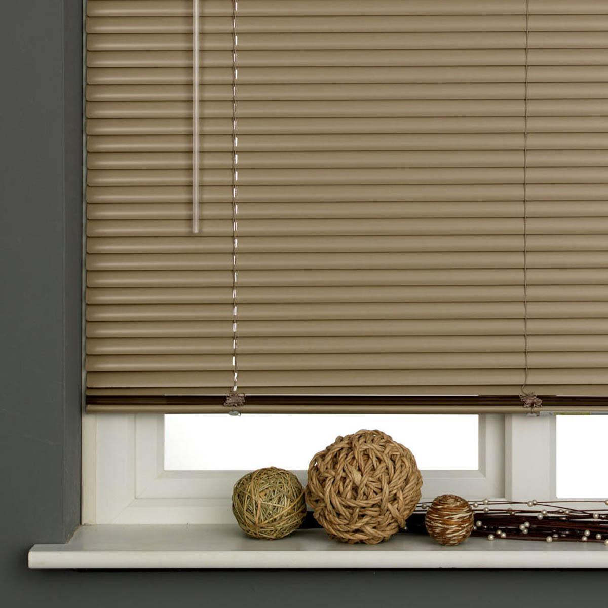 25mm Aluminum Venetian Blind Latte