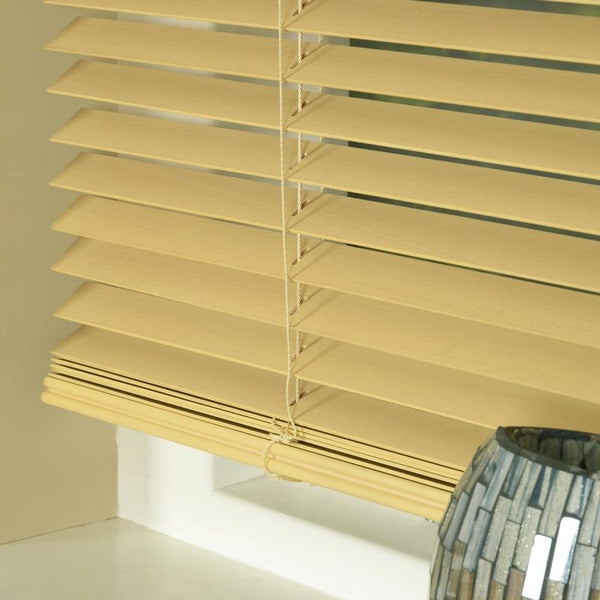 25mm Basswood Venetian Blind Natural